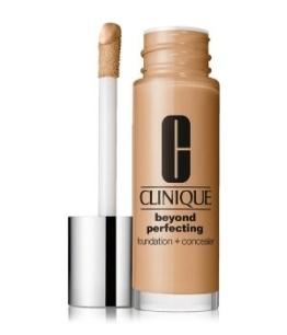 Clinique Beyond Perfecting 2-in-1: Foundation + Concealer Flüssige Foundation 30 ml Nr. Cn 58 Honey